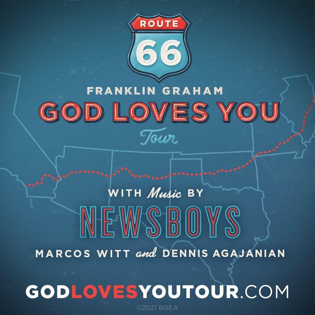 Franklin Graham to do evangelistic tour along Route 66